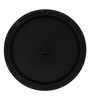 @ Home Black Plastic Romano Wall Clock