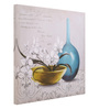 @ Home Canvas & Wood 17.9 x 1.4 x 18.7 Inch Modern Still & Floral Life Framed Painting