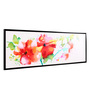 @ Home Canvas & Wood 57.1 x 1.6 x 18.5 Inch Garden Floral Framed Painting