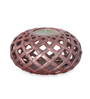 @ Home Multicolour Ceramic Earthy Wine Net Candle Holder