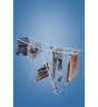 Pull N Dry Metal 4 Wings Stand Clothes Dryer