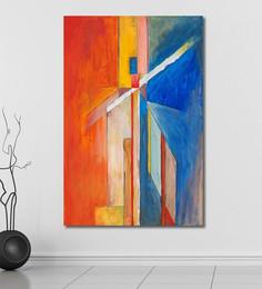 999Store Vinyl 48 X 0.4 X 72 Inch Abstract Painting Unframed Digital Art Print