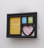 Aapno Rajasthan Black Acrylic Dark 4 Pictures Collage Photo Frame