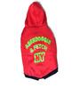 Aberdoggie Dog Hoddie in Red & Green (Size 10)