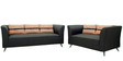 Adelia Three Seater Sofa in Steel Grey Colour by CasaCraft