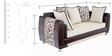Aesthetic Three Seater Sofa by Looking Good Furniture