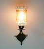 Jarasandha Wall Light in Brown by Mudramark
