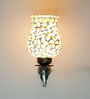 Latika Wall Light in Brown & Off White by Mudramark
