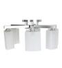 Aesthetics Home Solution White Glass Chandelier