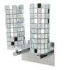Marita Wall Light in Silver by CasaCraft