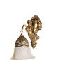 Baggott Wall Light in White by Amberville