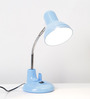 Lucio Study Lamp in Blue by CasaCraft