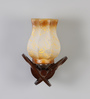 Anapolis Wall Light in Brown by CasaCraft