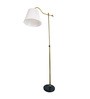Fabio Floor Lamp in White by Casacraft