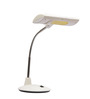 San Carlos Study Lamp in White by CasaCraft