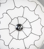 Abrigos Ceiling Lamp in White by CasaCraft