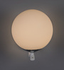 Campinas Wall Light in White by CasaCraft