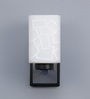 Alberto Wall Light in White by CasaCraft