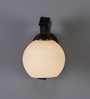 Florentino Wall Light in White by CasaCraft