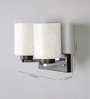 Adrian Wall Light in White by CasaCraft