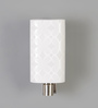 Calisto Wall Light in White by CasaCraft