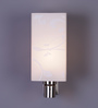 Brunilda Wall Light in White by CasaCraft