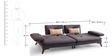 Agueda Three Seater Sofa in Grey Colour by CasaCraft