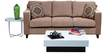 Alton Three Seater Sofa in Light Brown Colour by Forzza