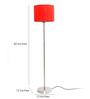 Alfredo Floor Lamp in Orange by CasaCraft