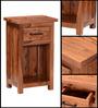 Logan End Table in Warm Walnut Finish by Woodsworth