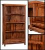 Logan Book Shelf in Warm Walnut Finish by Woodsworth