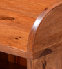 Logan Shoe Rack in Warm Walnut Finish by Woodsworth