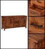 Logan Sideboard in Warm Walnut Finish by Woodsworth