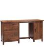 Logan Study & Laptop Table in Warm Walnut Finish by Woodsworth
