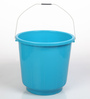 All Time Plastic 16 L Blue Buckets with Handle - Set of 2
