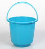 All Time Plastic 20 L Blue Buckets with Handle - Set of 2