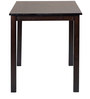Amaranto Four Seater Dining Set in Wenge Colour by CasaCraft