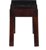 Ambar Handcrafted Small Bench in Honey Oak Finish by Mudramark