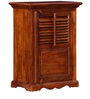 Amherst Cabinet in Honey Oak Finish by Amberville