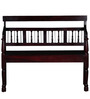 Earl Bench in Passion Mahogany Finish by Amberville