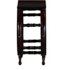 Kellogg End table in Passion Mahogany Finish by Amberville