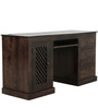 Lyndale Study & Laptop Table in Provincial Teak Finish by Amberville