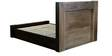 Anahi Queen Bed in Natural and Americano Finish by CasaCraft