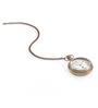 Anantaran Brown Brass Handicrafts Pocket Watch Chain Global
