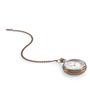 Anantaran Brown Brass Indian Vintage Pocket Watch Chain