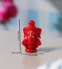 Anasa Multicolour Crystal Cute Ganesha God Idol