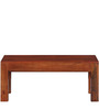 Lacanoia Mango Wood Minimalist Coffee Table In Honey Oak Finish by Woodsworth