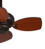 Anemos Chintoo 26  650 MM Walnut Mahogany Designer Ceiling Fan