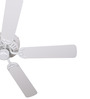 Anemos Cyclone 52 WH  52 x 8 Inch Designer Ceiling Fan