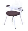 Aqua Chair in White Brown Color by @Home